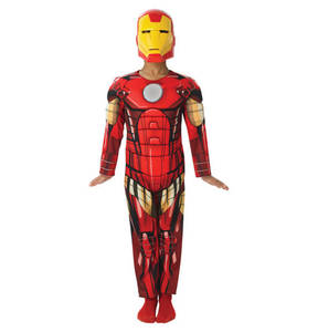Rubie´s             Iron Man Avengers Assemble Deluxe