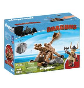 PLAYMOBIL®                Dragons                  Grobian mit Katapult 9245