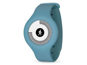 Withings/Nokia Go, Aktivitätstracker, mit Armband und Clip, blau