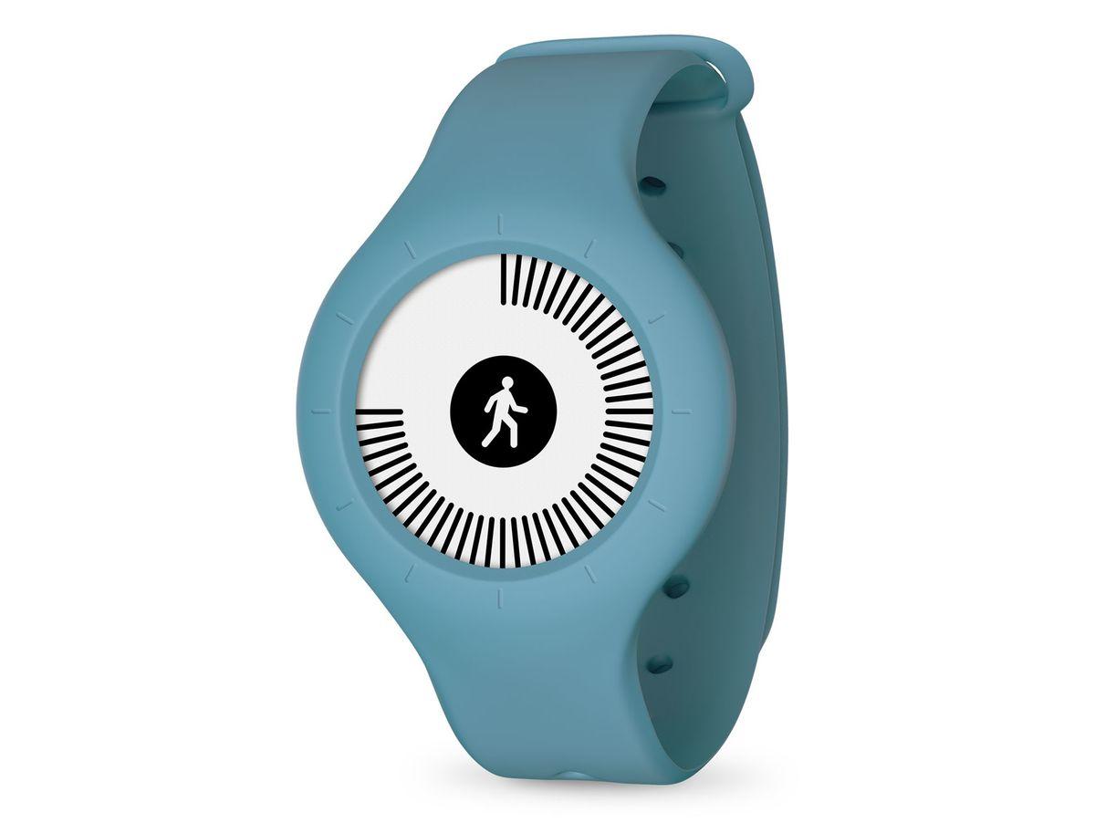 Bild 1 von Withings/Nokia Go, Aktivitätstracker, mit Armband und Clip, blau