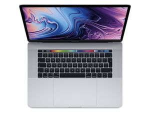 "Apple MacBook Pro 15"" (2018), i7 2,6 GHz, 16 GB RAM, 512 GB SSD, silber"