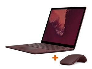 Microsoft Surface Laptop 2, 8 GB RAM, 256 GB SSD, rot, inkl. Arc Mouse