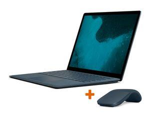 Microsoft Surface Laptop 2, 8 GB RAM, 256 GB SSD, blau, inkl. Arc Mouse