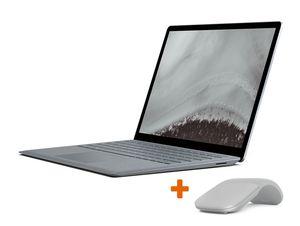 Microsoft Surface Laptop 2, 8 GB RAM, 256 GB SSD, platin, inkl. Arc Mouse