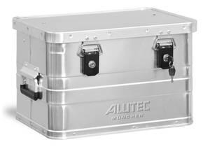 Aluminiumbox B 29, 29 Liter Inhalt mit Zylinderschlösser Alutec