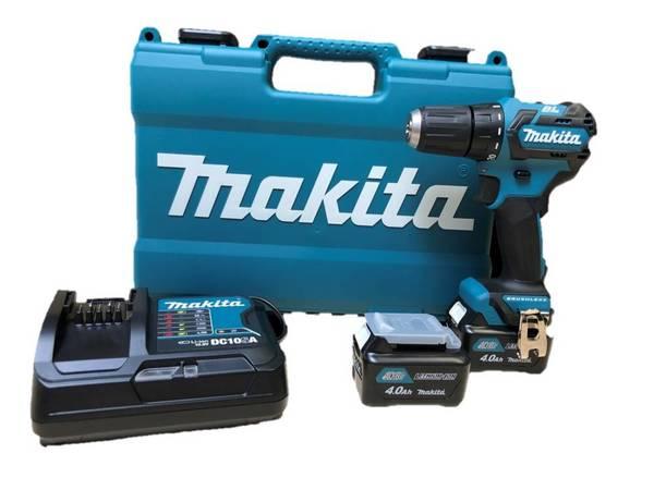 Akku-Bohrschrauber DF332DSME, 2 x 4,0 Ah-Akku, Schnelladegerät und Koffer Makita