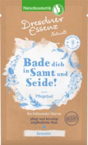 Dresdner Essenz Naturell Badesalz Bio-Süßmandel / Marula