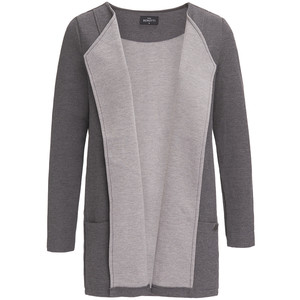 Damen Sweatblazer in Melange-Optik