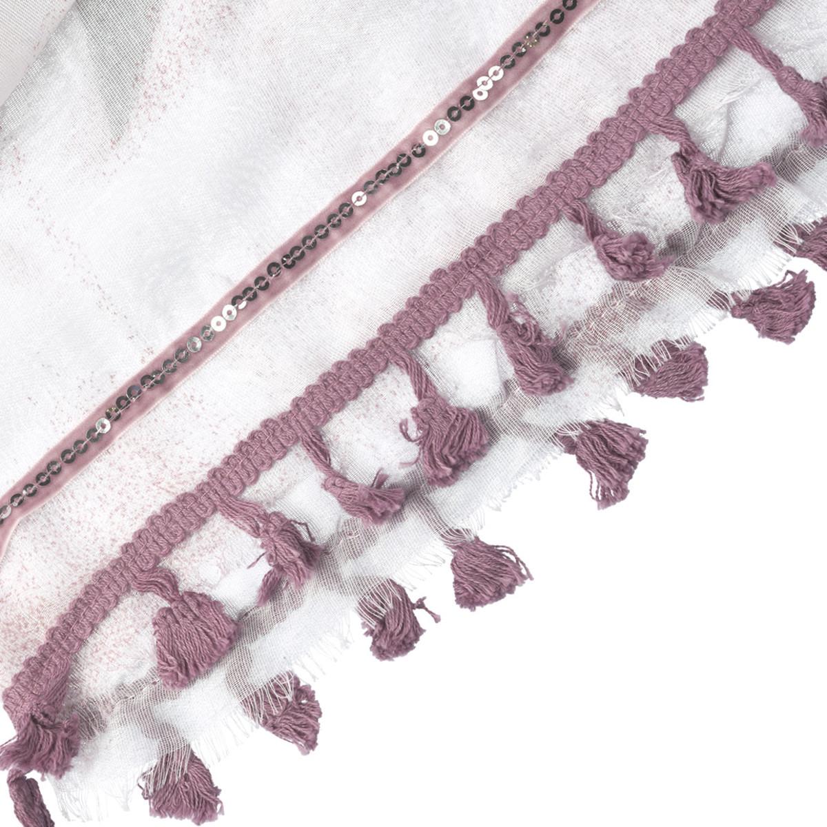 Bild 2 von Damen Tuch mit Tasselbordüre