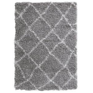 Hochflorteppich Milano (70x140, grau)