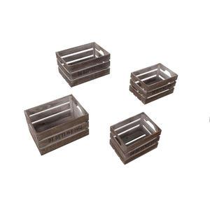 XXXL Aufbewahrungsboxen Set 4 tlg, Mehrfarbig