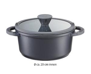 CROFTON®  Aluguss-Kochtopf, Ø ca.: 20 cm