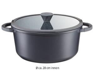 CROFTON®  Aluguss-Kochtopf, Ø ca.: 28 cm