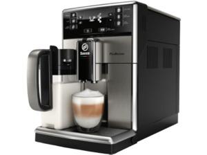 SAECO SM5473/10 PicoBaristo, Kaffeevollautomat, 1.8 Liter Wassertank, 15 bar, Edelstahl/Schwarz