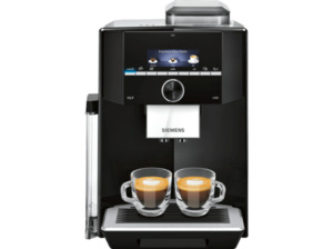 SIEMENS TI923509DE EQ.9 S300, Kaffeevollautomat, 2.3 Liter Wassertank, 19 bar, Schwarz/Edelstahl