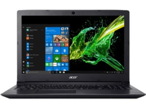 ACER Aspire 3 (A315-53-35VF), Notebook, Core™ i3 Prozessor, 4 GB RAM, 256 GB SSD, HD-Grafik 620, Schwarz