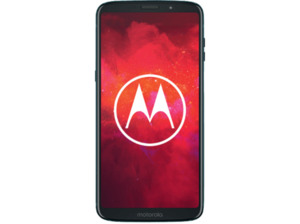 MOTOROLA moto z3 play, Smartphone, 64 GB, Deep Indigo, Dual SIM