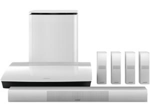BOSE Lifestyle 650, 5.1 Heimkino-System, Bluetooth, Weiß