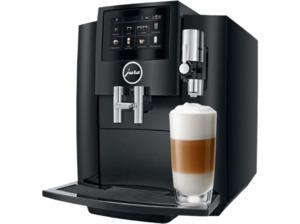 JURA S 80 Piano Black, Kaffeevollautomat, 1.9 Liter Wassertank, 15 bar, Schwarz