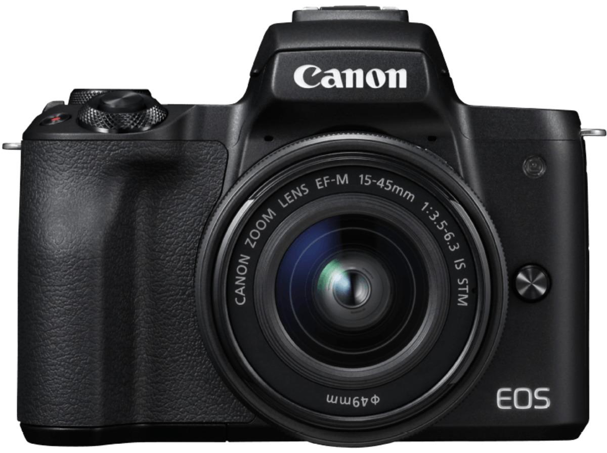 Bild 2 von CANON EOS M50 Kit Systemkamera 24.1 Megapixel mit Objektiv 15-45 mm f/6.3, 7.5 cm Display   Touchscreen, WLAN