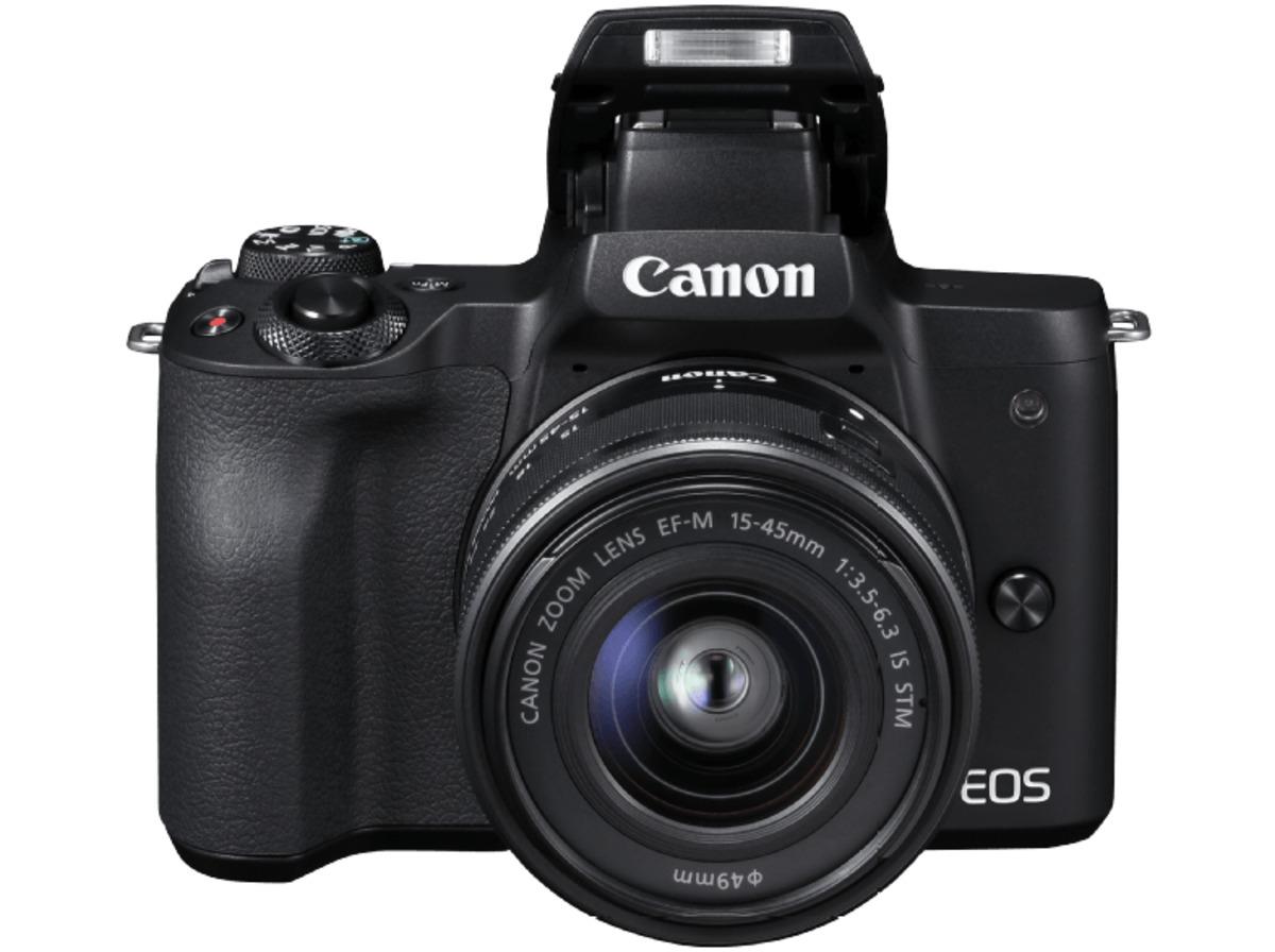 Bild 3 von CANON EOS M50 Kit Systemkamera 24.1 Megapixel mit Objektiv 15-45 mm f/6.3, 7.5 cm Display   Touchscreen, WLAN