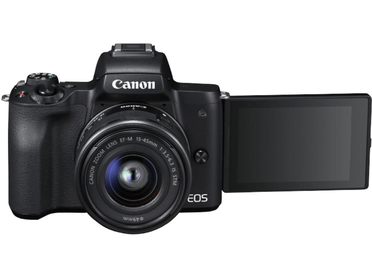 Bild 4 von CANON EOS M50 Kit Systemkamera 24.1 Megapixel mit Objektiv 15-45 mm f/6.3, 7.5 cm Display   Touchscreen, WLAN