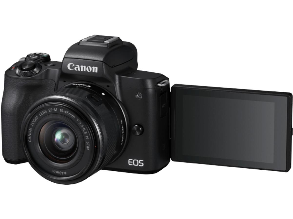 Bild 5 von CANON EOS M50 Kit Systemkamera 24.1 Megapixel mit Objektiv 15-45 mm f/6.3, 7.5 cm Display   Touchscreen, WLAN