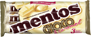 Mentos Caramel & White Chocolate 3x38 g