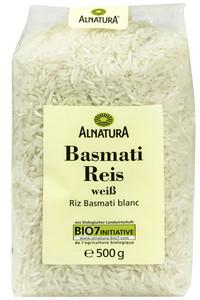 Alnatura Bio Basmati Reis weiß klein 500 g