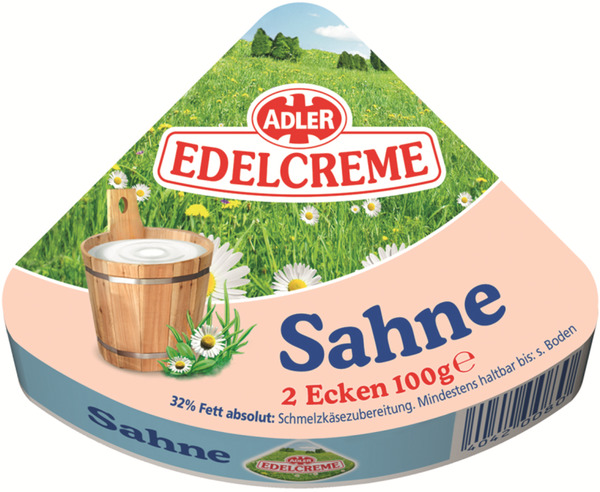 ADLER Edelcreme Sahne 100 g