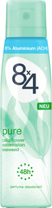 8x4 Deo-Spray Pure 150 ml