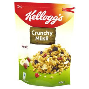 Kelloggs Crunchy Müsli Frucht 500 g
