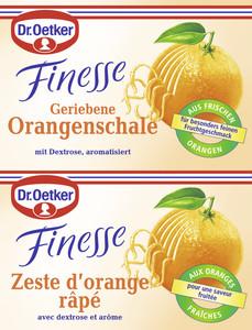 Dr.Oetker Finesse geriebene Orangenschale 2x 6 g