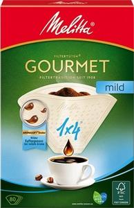 Melitta Kaffeefilter Gourmet mild 1x4 80 Stk