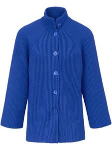 Strickjacke aus reinem Kaschmir Laura Biagiotti Donna blau