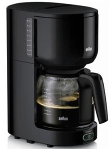 Braun Kaffeeautomat KF3120BK ,  10 Tassen, schwarz