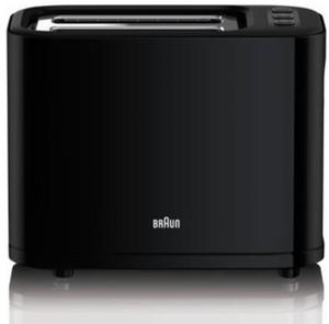 Braun Toaster HAT 3010 ,  2 Scheiben, 1000 Watt, schwarz