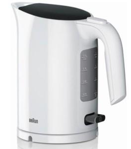 Braun Wasserkocher WK 3100 WH ,  2200 Watt, 1,7 l Füllmenge