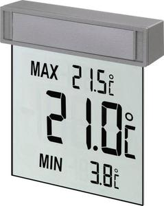 TFA 30.1025 Fenster-Thermometer Silber