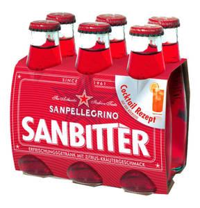 San Pellegrino Sanbitter  0,098 l 6-teilig                 (2 Stück)