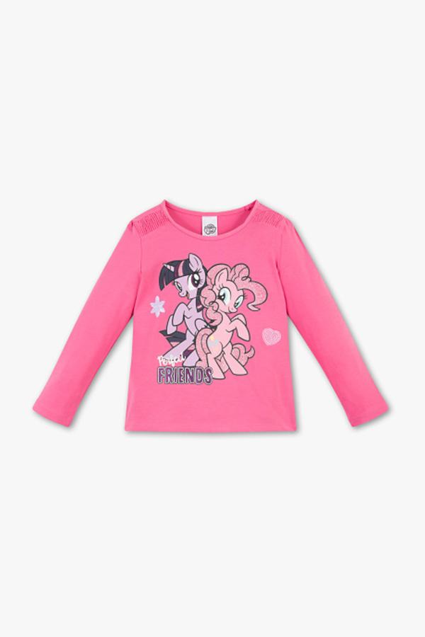 My Little Pony - Langarmshirt - Bio-Baumwolle - Glanz Effekt