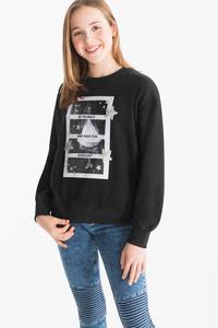 Here and There         Sweatshirt - Glanz Effekt