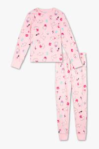 Here and There         Pyjama - Bio-Baumwolle - 2 teilig