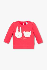 Baby Club         Baby-Sweatshirt - Glanz Effekt