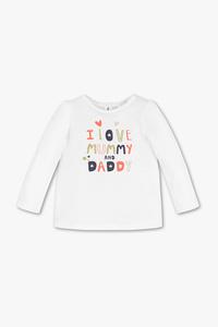 Baby Club         Baby-Langarmshirt