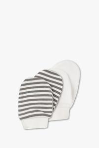 Baby Club         Baby-Handschuhe - Bio-Baumwolle - 2 Paar