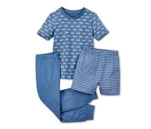 3-teilige Pyjama-Kombi