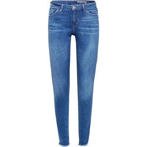 edc by Esprit Damen Jeans im Used Look, Medium Skinny Fit