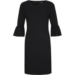 S.Oliver Black Label Damen Kleid mit Volantärmeln