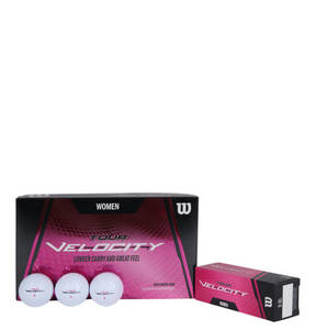 "Wilson             Golfball ""Tour Velocity"", 15er-Pack, für Damen"